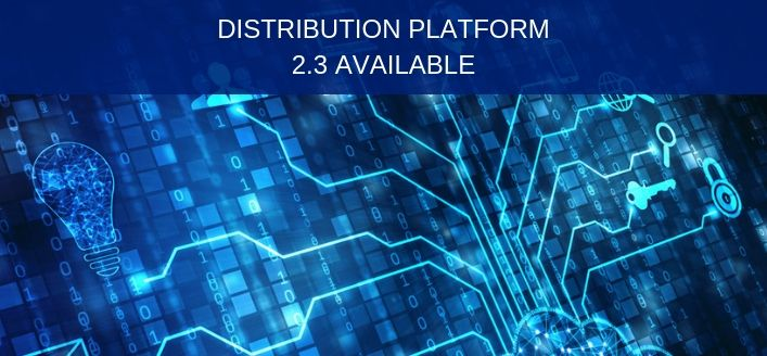 Release: Distribution platform 2.3 now available